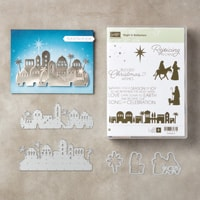 Night In Bethlehem Wood-Mount Bundle