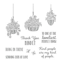 Hanging Garden Clear-Mount Stamp Set