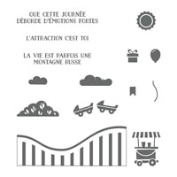 Vie Trépidante Photopolymer Stamp Set (French)