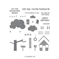 Treehouse Adventure Photopolymer Stamp Set