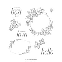 Floral Frames Clear-Mount Stamp Set