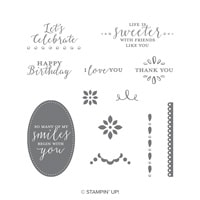 Detailed With Love Wood-Mount Stamp Set