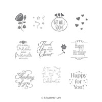 Treat Time Clear-Mount Stamp Set