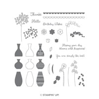 Varied Vases Photopolymer Stamp Set