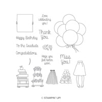 Hand Delivered Photopolymer Stamp Set
