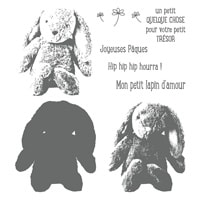 Joli Petit Quelque Chose Photopolymer Stamp Set (French)