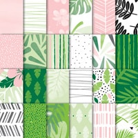 "Tropical Escape 6"" X 6"" (15.2 X 15.2 Cm) Designer Series Paper"