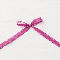 "Berry Burst 3/8"" (1 Cm) Mini Ruffled Ribbon"