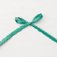 "Tranquil Tide 3/8"" (1 Cm) Mini Ruffled Ribbon"