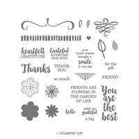 A Big Thank You Photopolymer Stamp Set