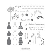 Vases Divers Photopolymer Stamp Set (French)