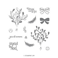 Saison Du Gui Photopolymer Stamp Set (French)