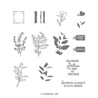 Une Pincée De Gentillesse Photopolymer Stamp Set (French)