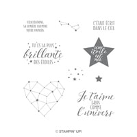 Petite Étoile Clear-Mount Stamp Set (French)