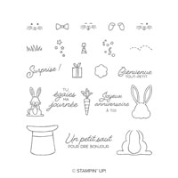 Grandes Oreilles Photopolymer Stamp Set (French)
