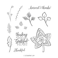 Falling For Leaves Photopolymer Stamp Set