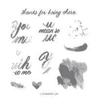 Mean So Much Photopolymer Stamp Set