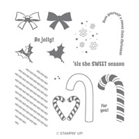 Candy Cane Season Photopolymer Stamp Set