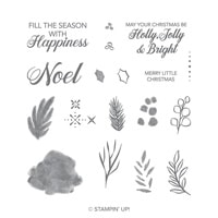 Peaceful Noel Photopolymer Stamp Set