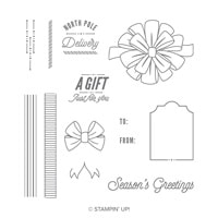 Bring On The Presents Photopolymer Stamp Set