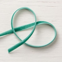 "Tranquil Tide 1/4"" (6.4 Mm) Velvet Ribbon"