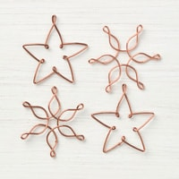 Snowflakes & Stars Wire Elements
