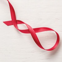 "Real Red 3/8"" (1 Cm) Mixed Satin Ribbon"
