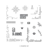 Petit Coin De Paradis Photopolymer Stamp Set (French)