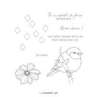 Mieux Avec Toi Clear-Mount Stamp Set (French)