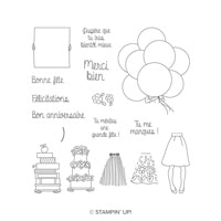 En Main Propre Photopolymer Stamp Set (French)