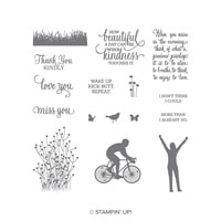 Enjoy Life Photopolymer Stamp Set