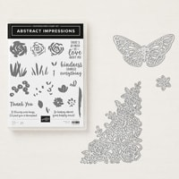 Abstract Impressions Photopolymer Bundle with 10% Stampin' Up! Bundle discount!