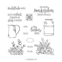 Landleben Photopolymer Stamp Set (German)