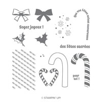 Cannes Et Bonbons Photopolymer Stamp Set (French)