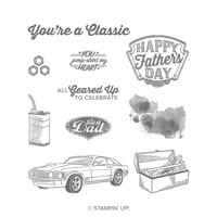 Geared Up Garage Cling Stamp Set