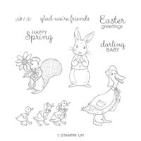 Fable Friends Cling Stamp Set