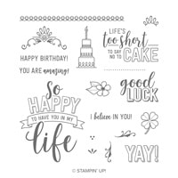 Amazing Life Photopolymer Stamp Set
