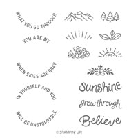 Here Comes The Sun Photopolymer Stamp Set