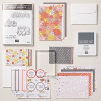 Grands Souhaits Cards Supplies Set (French)