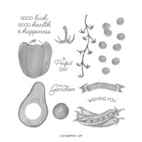Garden Goodness Photopolymer Stamp Set