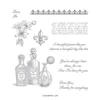 Fanciful Fragrance Cling Stamp Set