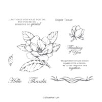 Good Morning Magnolia Cling Stamp Set