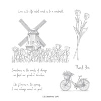 Winds Of Change Cling Stamp Set