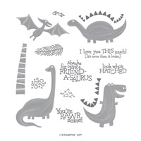 Dino Days Photopolymer Stamp Set