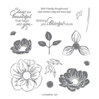 Floral Essence Photopolymer Stamp Set