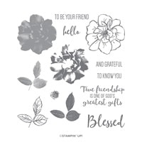 To A Wild Rose Photopolymer Stamp Set