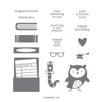 Check You Out Photopolymer Stamp Set