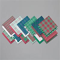 "Wrapped In Plaid 6"" X 6"" (15.2 X 15.2 Cm) Specialty Designer Series Paper"