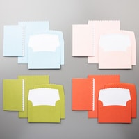 Scalloped Note Cards & Envelopes