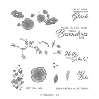 Definition Von Glück Photopolymer Stamp Set (German)